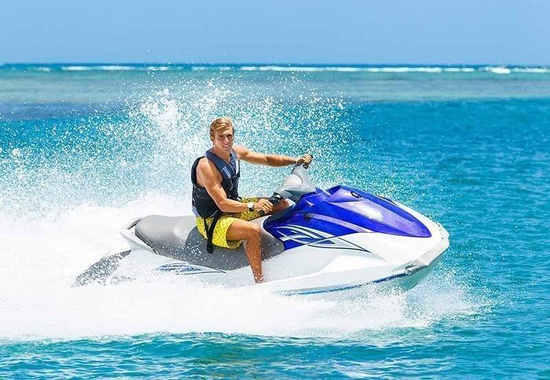 jetski riding in blue water gallery extrevity