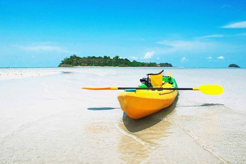 kayak on the beach gallery extrevity