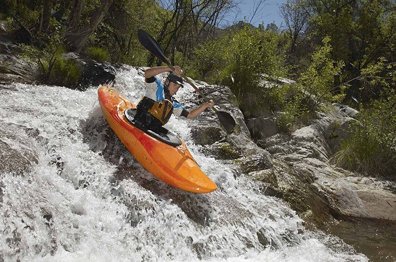whitewater kayak in waterfall gallery extrevity