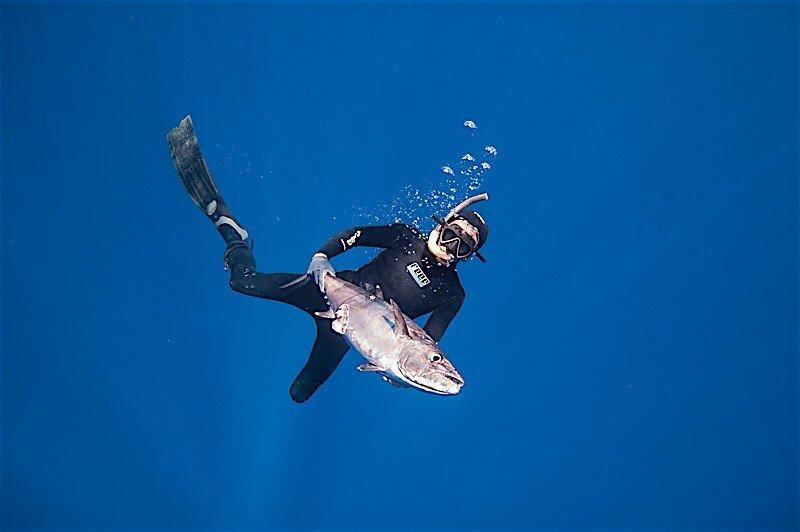 bali spearfishing extrevity